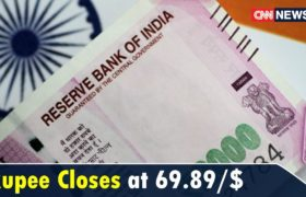 Rupee Closes at 69.89/$ After Falling to an All-Time Low of 70.08