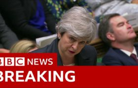 Brexit: Theresa May urges MPs to back her plan