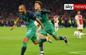 Tottenham to face Liverpool in Champions League final after dramatic comeback
