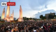 Anti-government protests held in Bangkok